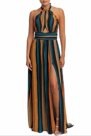 luxxel Shirred Stripe Maxi - Product Mini Image