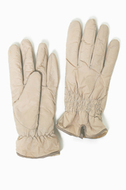 Look by M Shirring Puffer Gloves - Product Mini Image