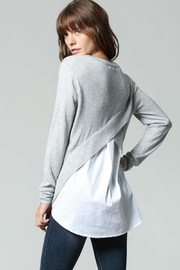 FATE by LFD Shirt Back Sweater - Product Mini Image