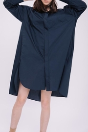English Factory Shirt Dress - Front full body