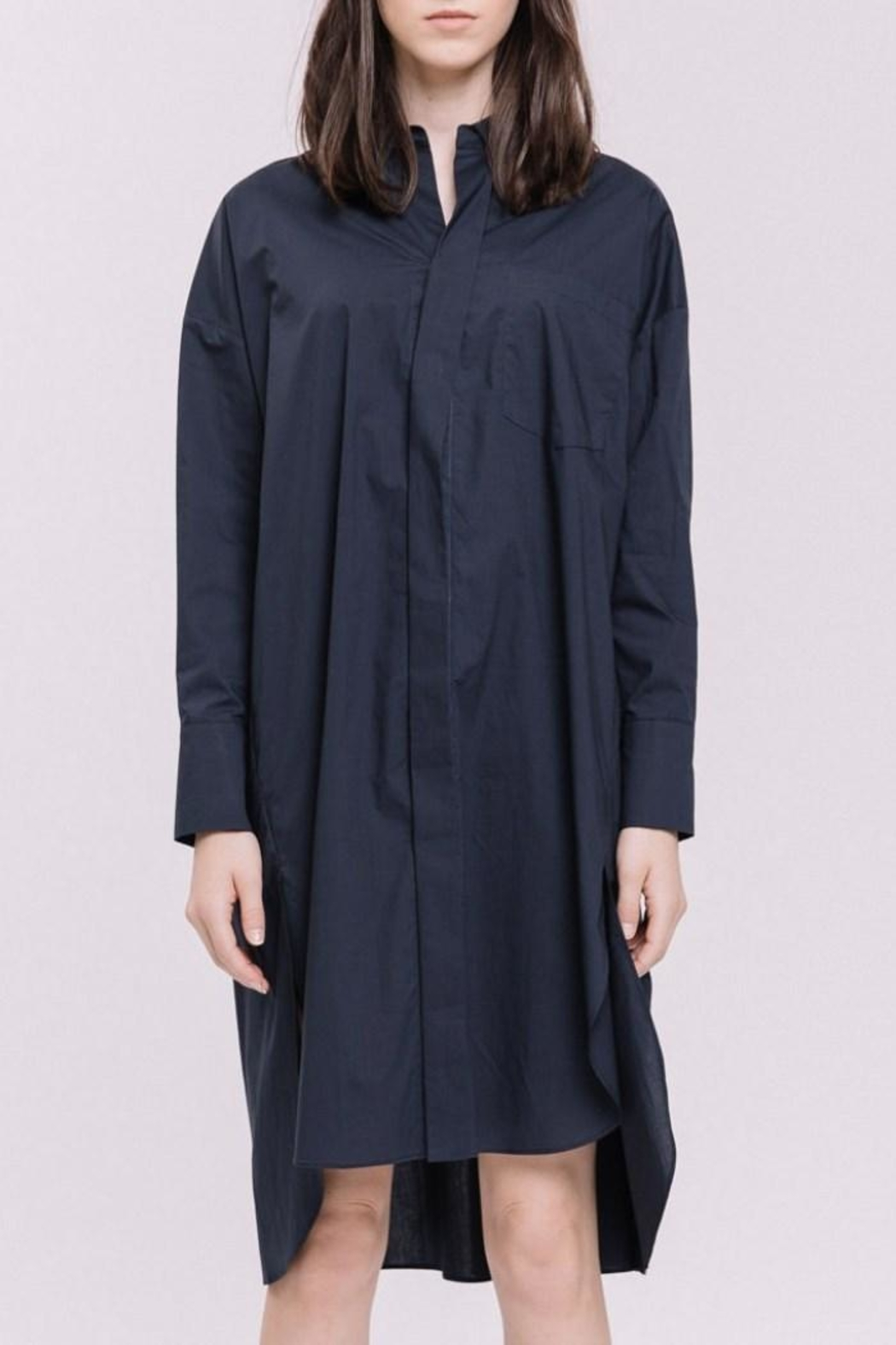 English Factory Shirt Dress - Main Image