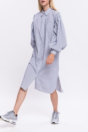 English Factory Shirt Dress - Product Mini Image