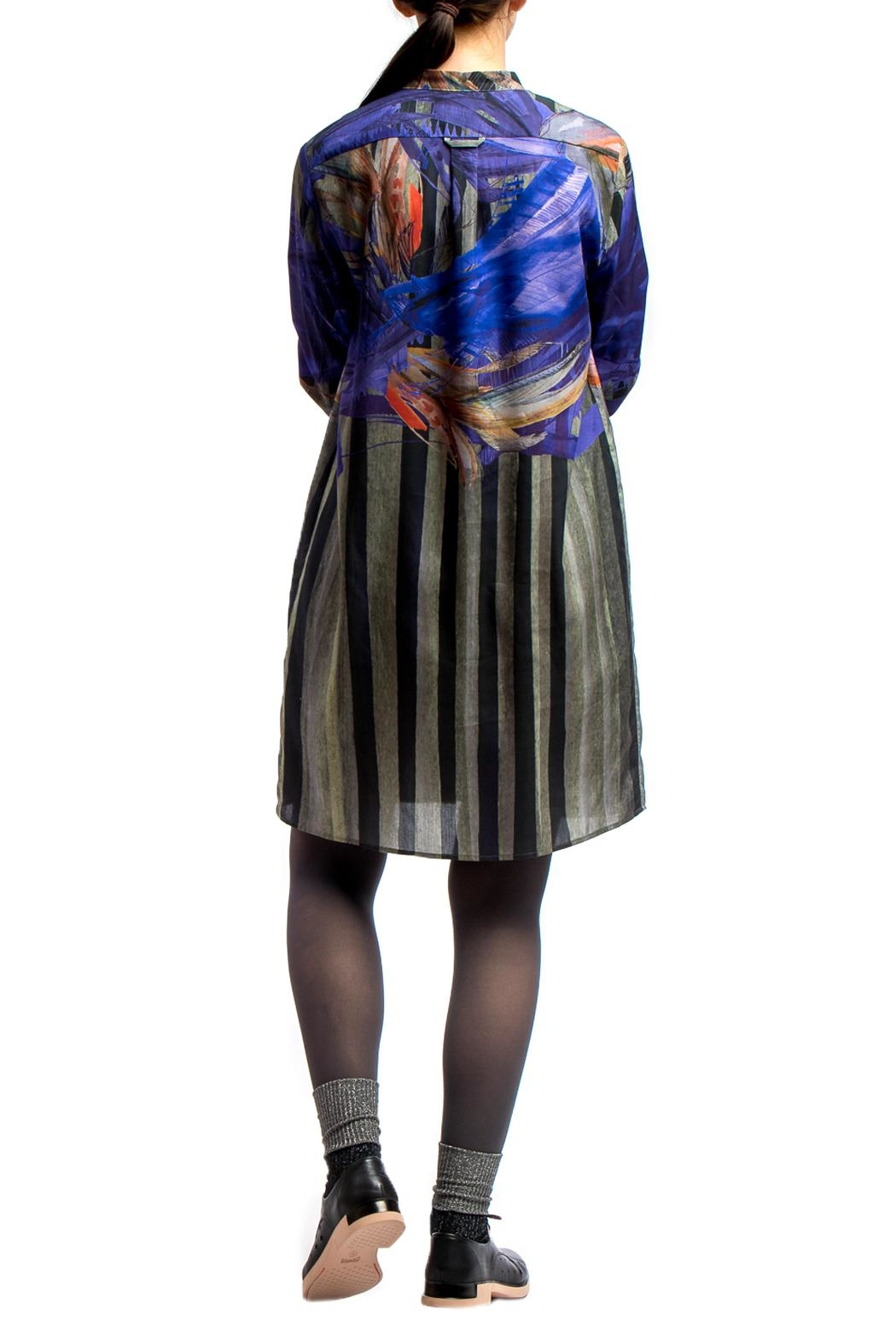 Clara Kaesdorf Shirt Dress Painted - Side Cropped Image