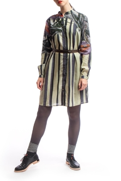 Clara Kaesdorf Shirt Dress Print - Alternate List Image