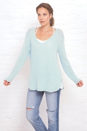 Wooden Ships Shirt Tail V-Neck Tunic - Front full body