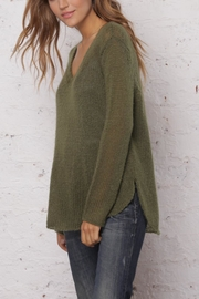 Wooden Ships Shirt-Tails V-Neck Sweater - Front full body