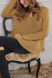Wooden Ships Shirt-Tails V-Neck Sweater - Other