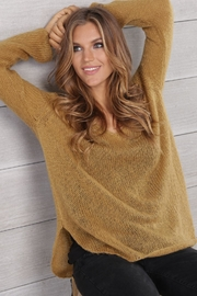 Wooden Ships Shirt-Tails V-Neck Sweater - Side cropped