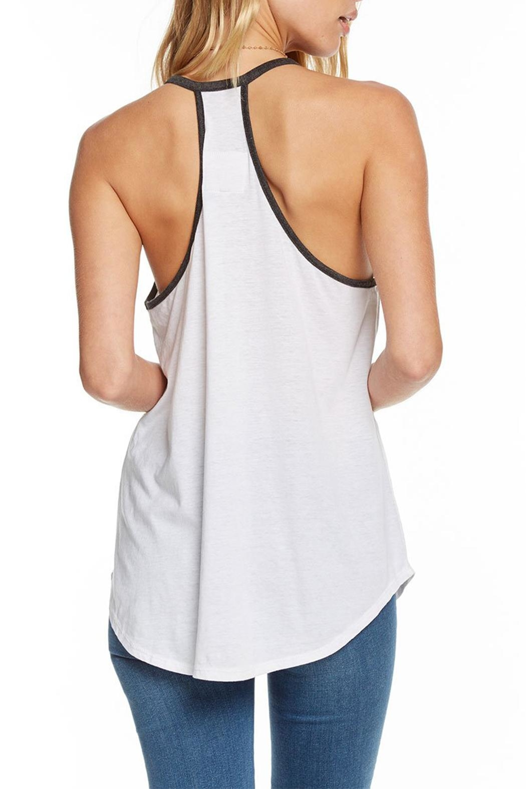 Chaser Shirttail Henley Tank - Side Cropped Image