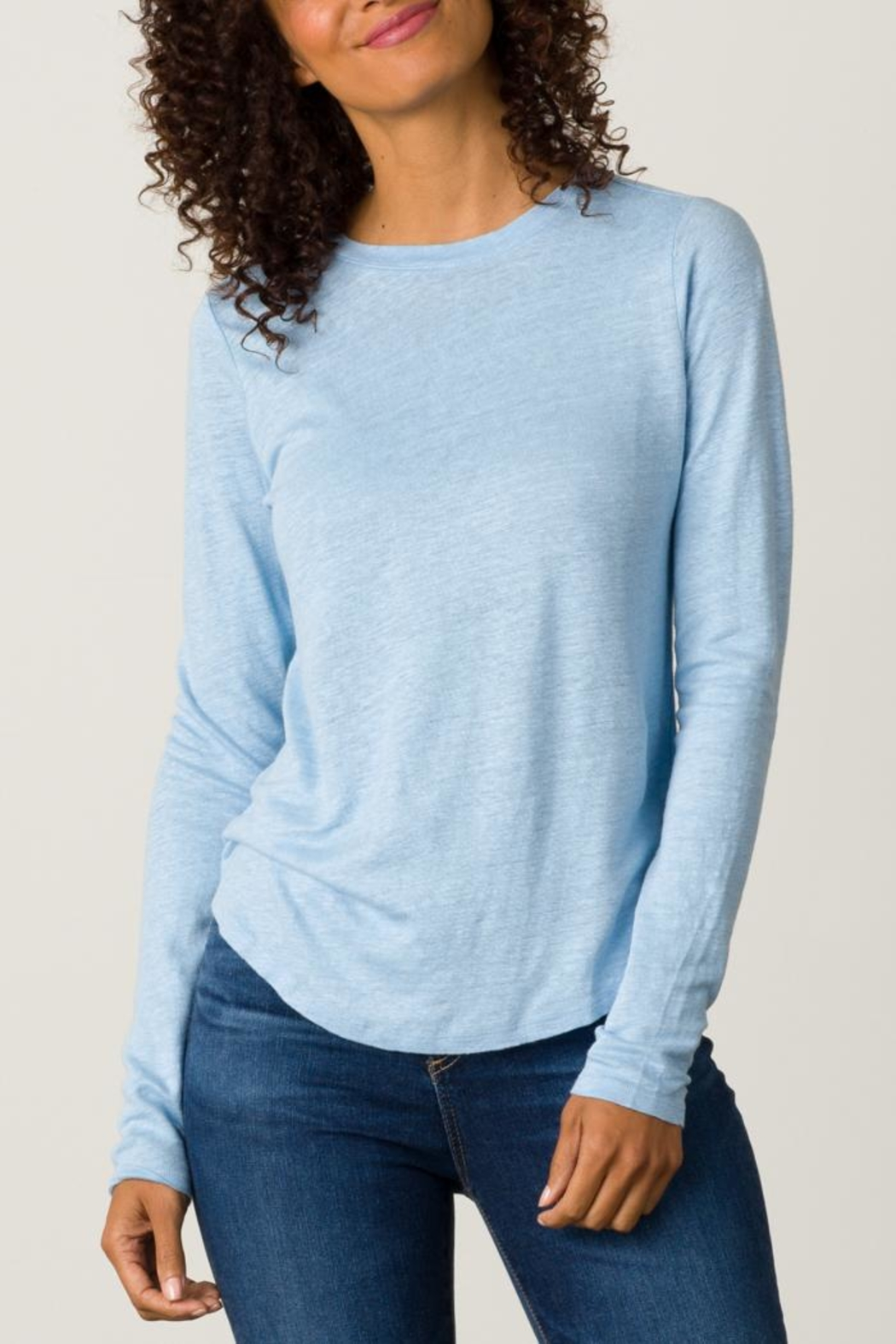 Margaret O'Leary Shirttail Tee - Main Image