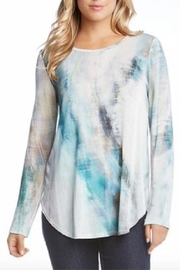 Karen Kane Shirttail Tee Pullover - Product Mini Image