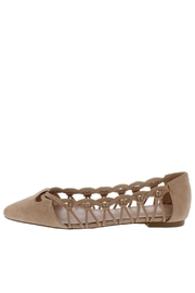 Shoe Republica Woven Taupe Flat - Product Mini Image