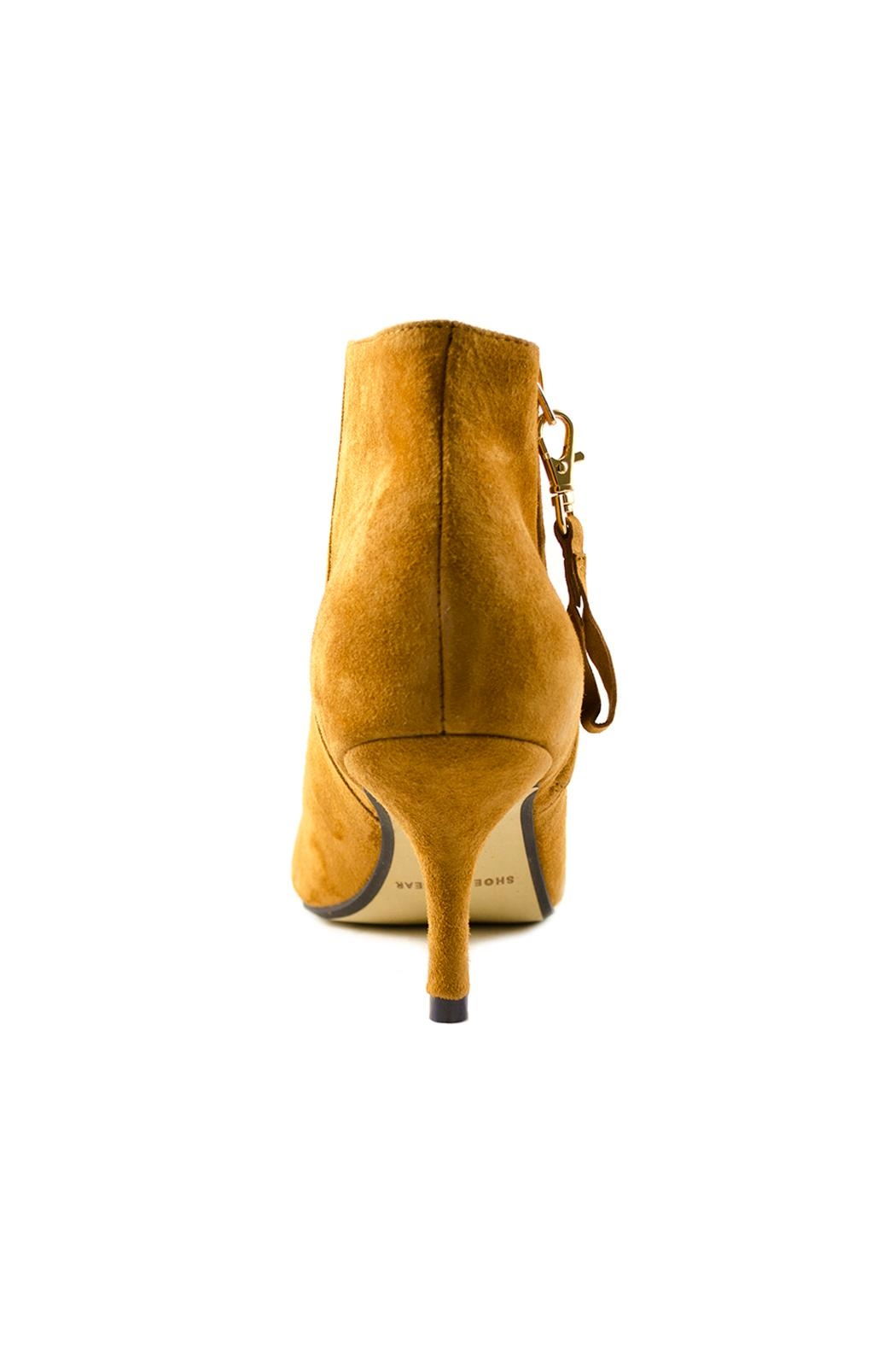 Shoe the Bear Agnete Suede Bootie - Back Cropped Image