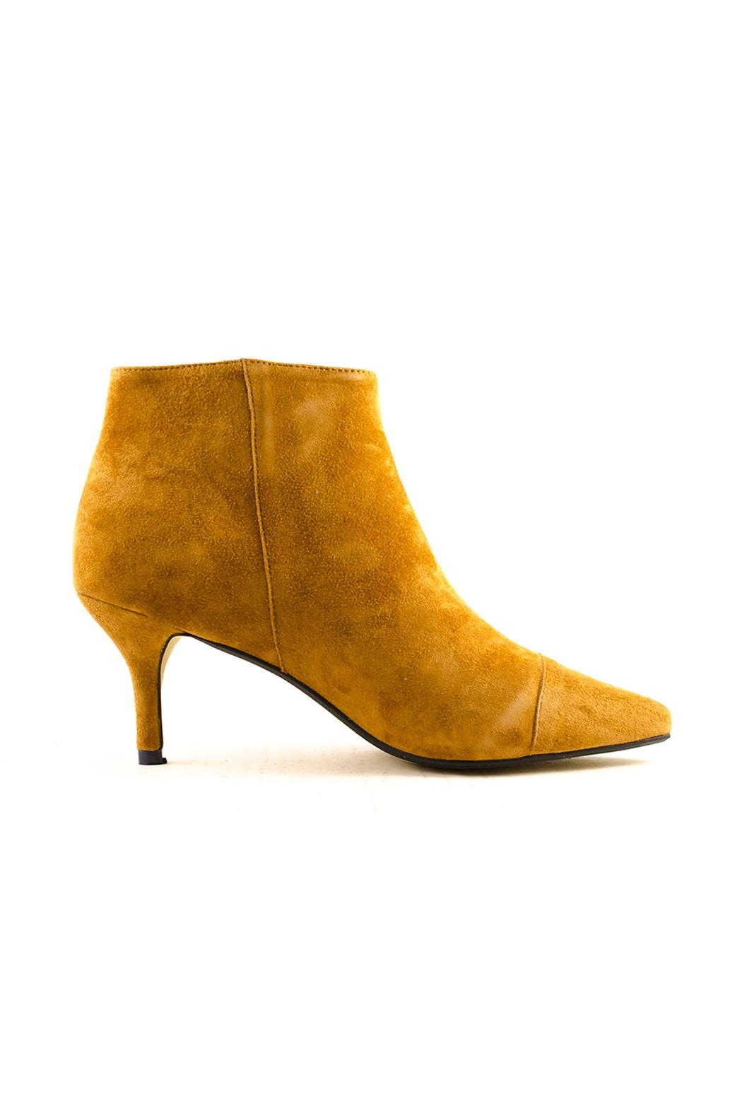 Shoe the Bear Agnete Suede Bootie - Side Cropped Image