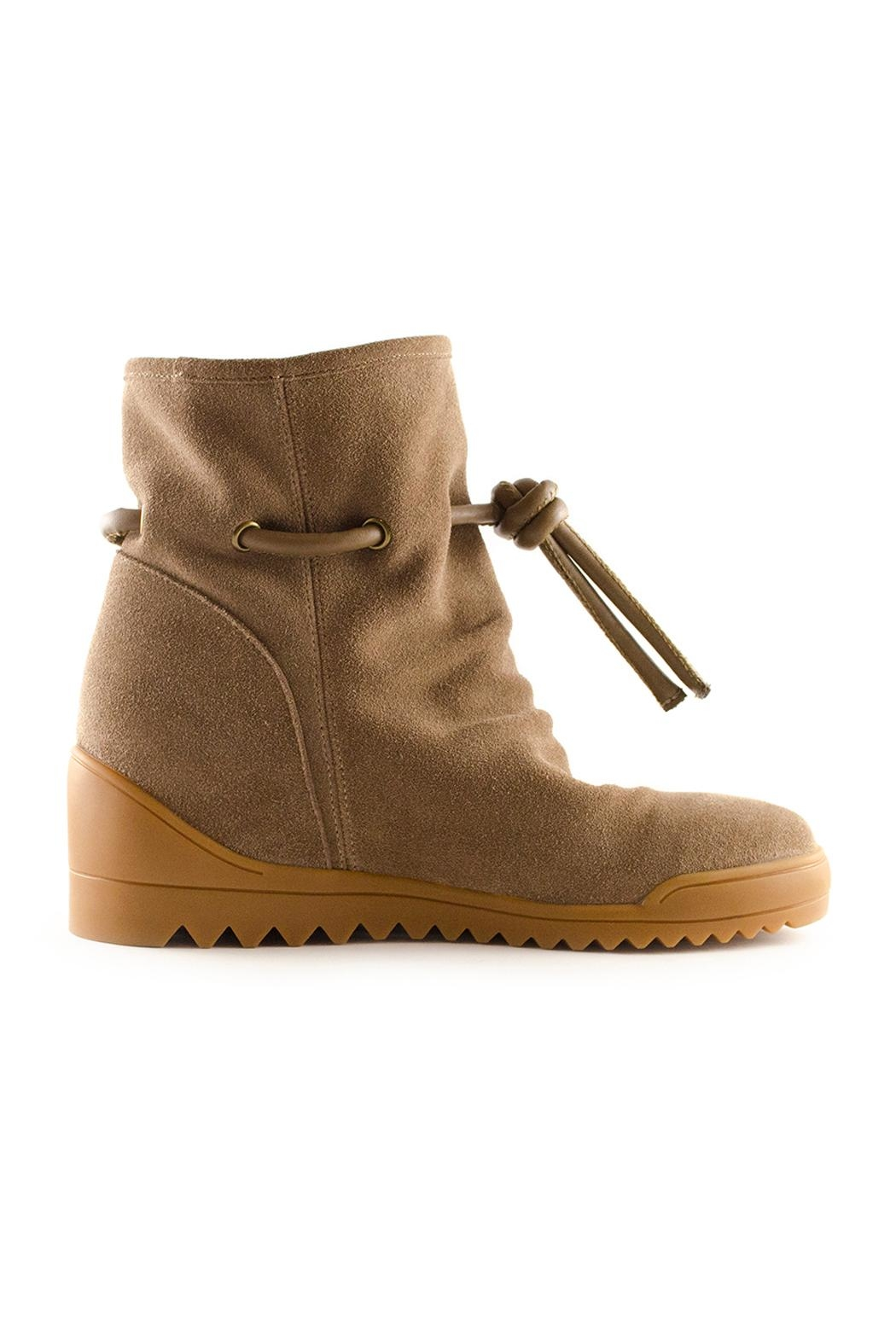 Shoe the Bear Line S Wedge Bootie - Side Cropped Image