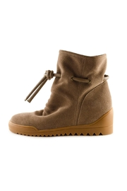 Shoe the Bear Line S Wedge Bootie - Front cropped