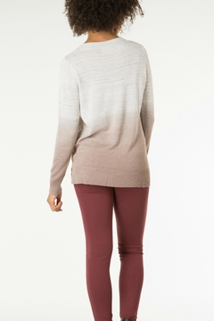 Yest Shoelace Ombre Sweater - Alternate List Image