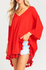 Show Me Your Mumu Shook Tassel Tunic - Front full body
