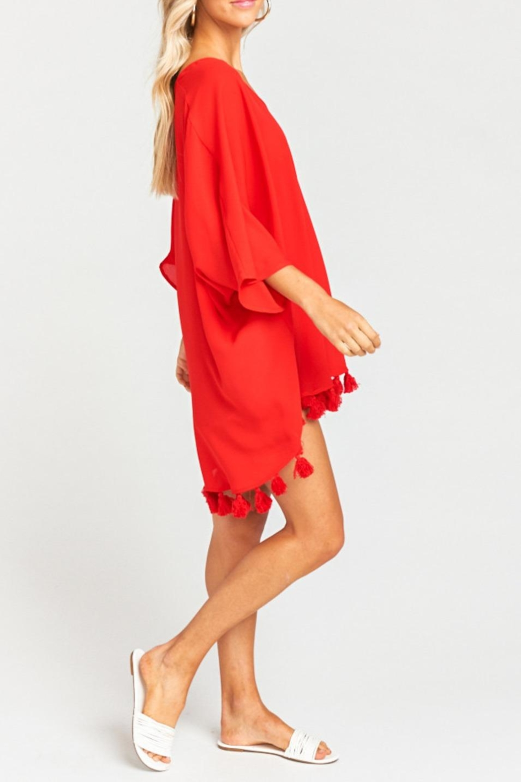 Show Me Your Mumu Shook Tassel Tunic - Side Cropped Image
