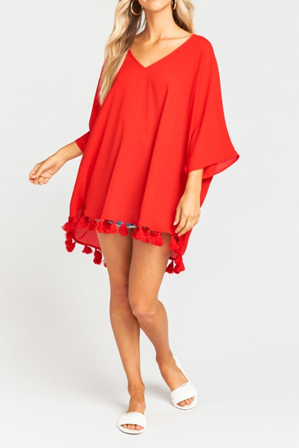 Show Me Your Mumu Shook Tassel Tunic - Main Image