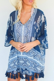 Show Me Your Mumu Shook Tassel Tunic - Product Mini Image