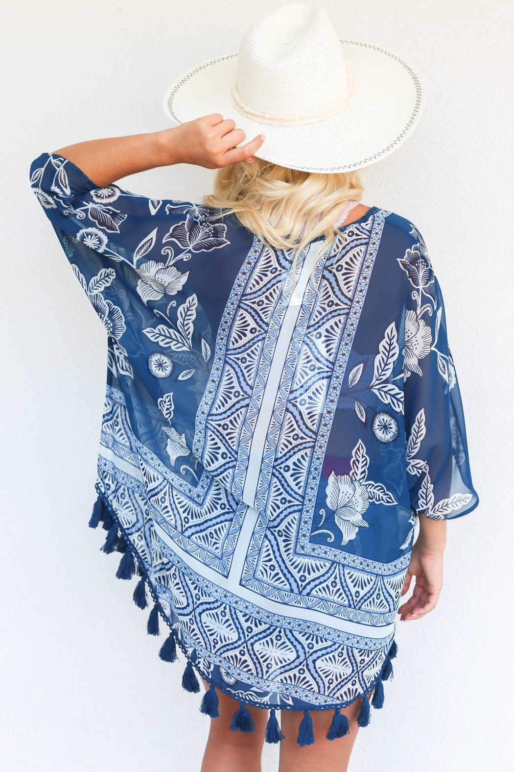 Show Me Your Mumu Shook Tassel Tunic - Front Full Image