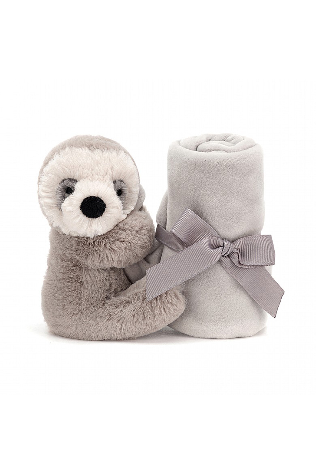 Jellycat Shooshu Sloth Soother - Front Full Image