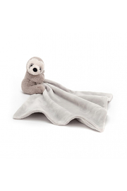 Jellycat Shooshu Sloth Soother - Front cropped