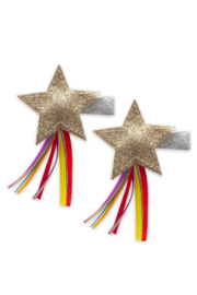 Baby Bling Shooting Star Clips - Front cropped