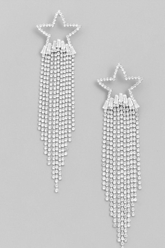 Runway & Rose Shooting Star Earrings - Alternate List Image