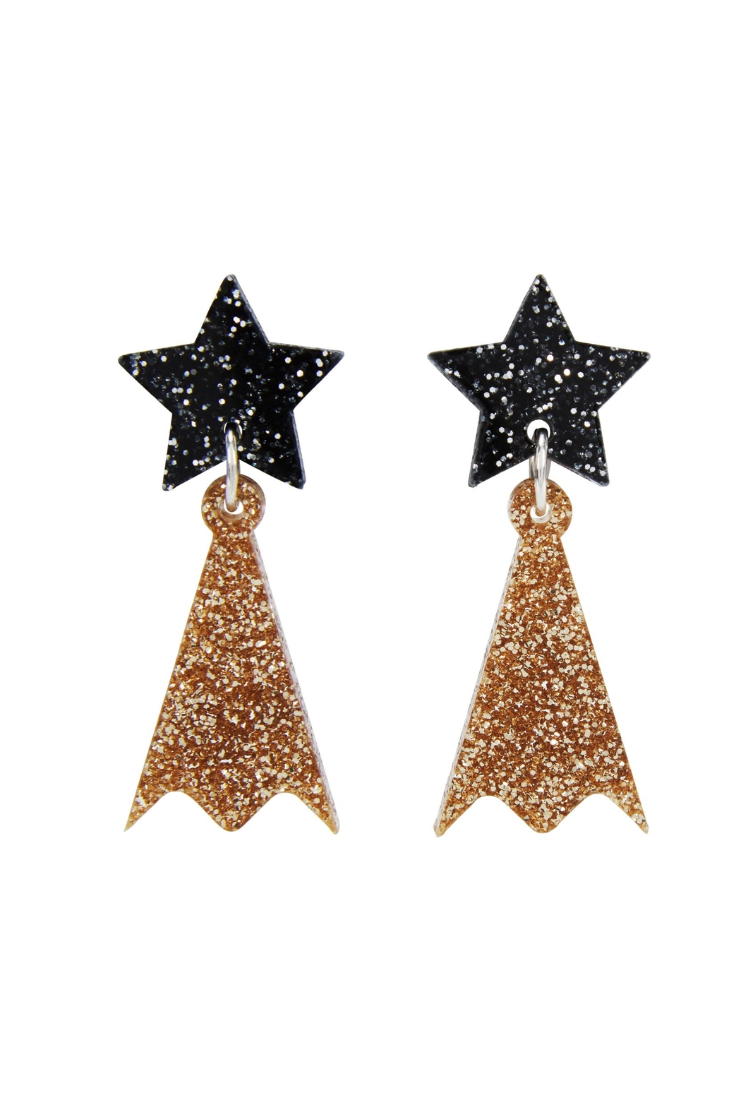 cd93b6015 Little Moose Shooting Star Earrings from Glasgow by Pink Poodle ...