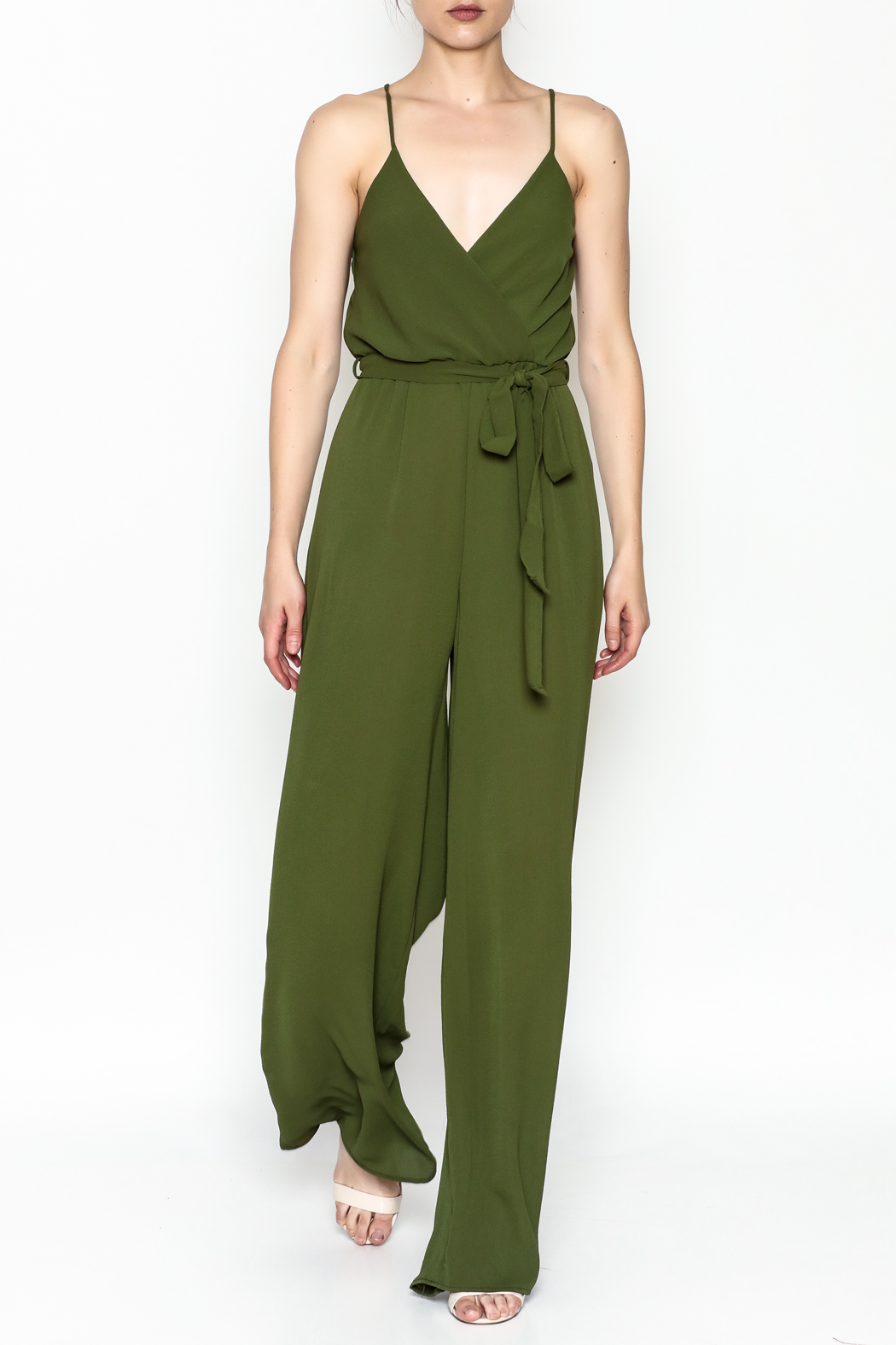 shop 17 Sleeveless Jumpsuit - Front Cropped Image