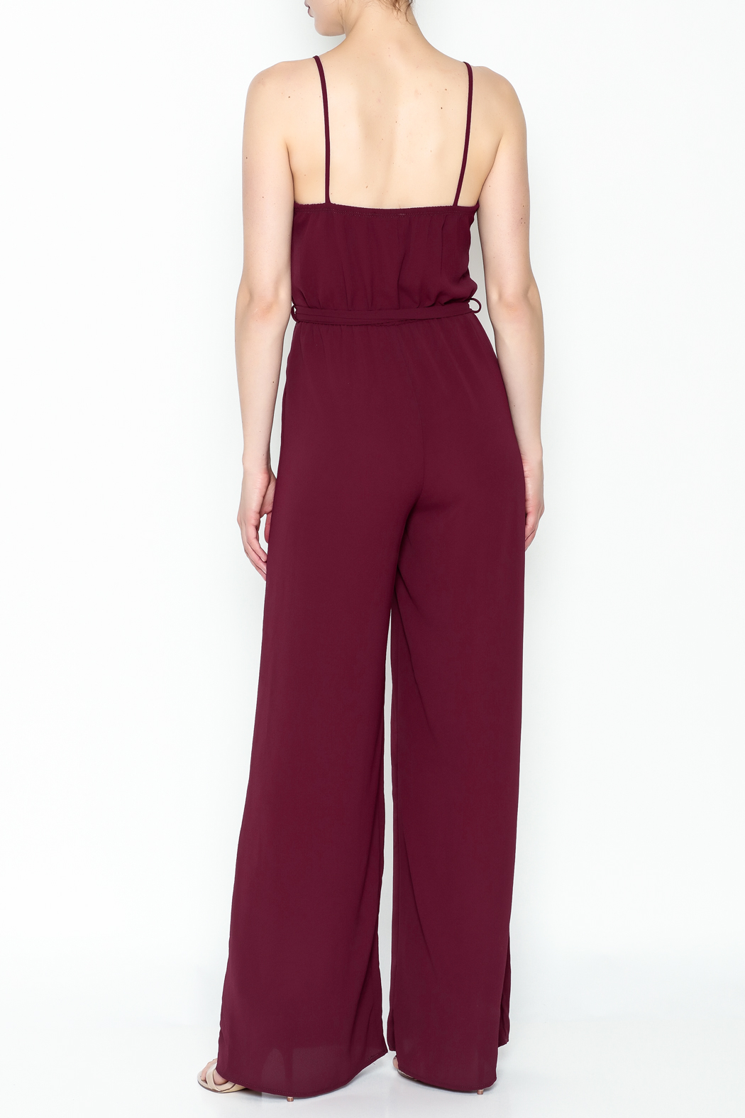 shop 17 Spaghetti Strap Jumpsuit - Back Cropped Image