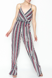 shop 17 Stripe Jumper - Front cropped