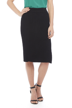 Shoptiques Product: Black Pleated Skirt