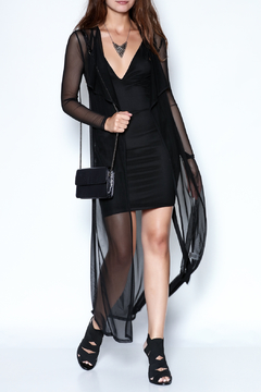 Shoptiques Product: All Over Mesh Dress
