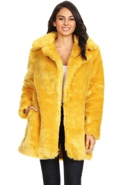 shop 17 Long Fur Coat - Product Mini Image