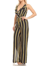 shop 17 Sleeveless Stripe Jumpsuit - Product Mini Image