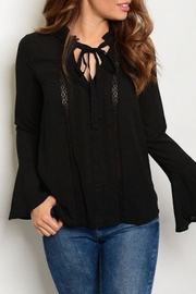 Shop The Trends  Bell Sleeve Top - Product Mini Image