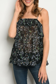 Shoptiques Product: Black Floral Top