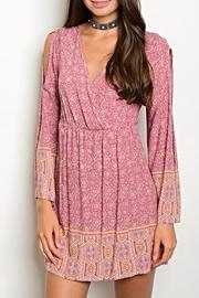 On Twelfth Blush Floral Dress - Product Mini Image
