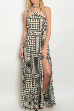Shop The Trends  Cream Maxi Dress - Product List Image