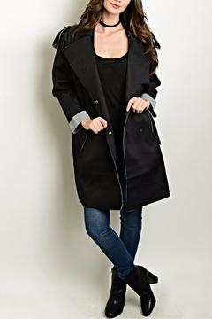 Shop The Trends  Distressed Trench Coat - Product List Image