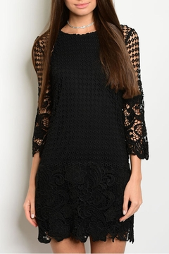 Shop The Trends  Crochet Scalloped Dress - Product List Image