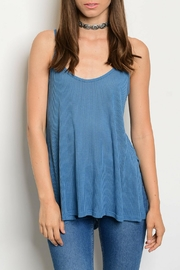 Shop The Trends  Indigo Top - Product Mini Image