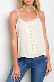 Shop The Trends  Lola Satin Top - Product Mini Image