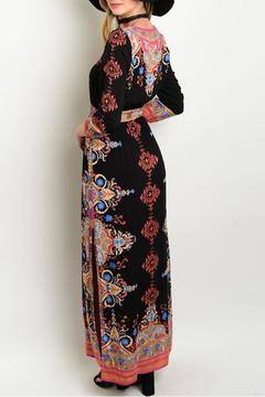 Shop The Trends  Maxi Print Dress - Alternate List Image