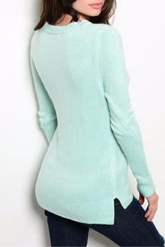 Shop The Trends  Mint Sweater - Alternate List Image