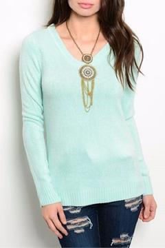 Shop The Trends  Mint Sweater - Product List Image