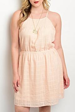 Shop The Trends  Peach Spring Dress - Product List Image